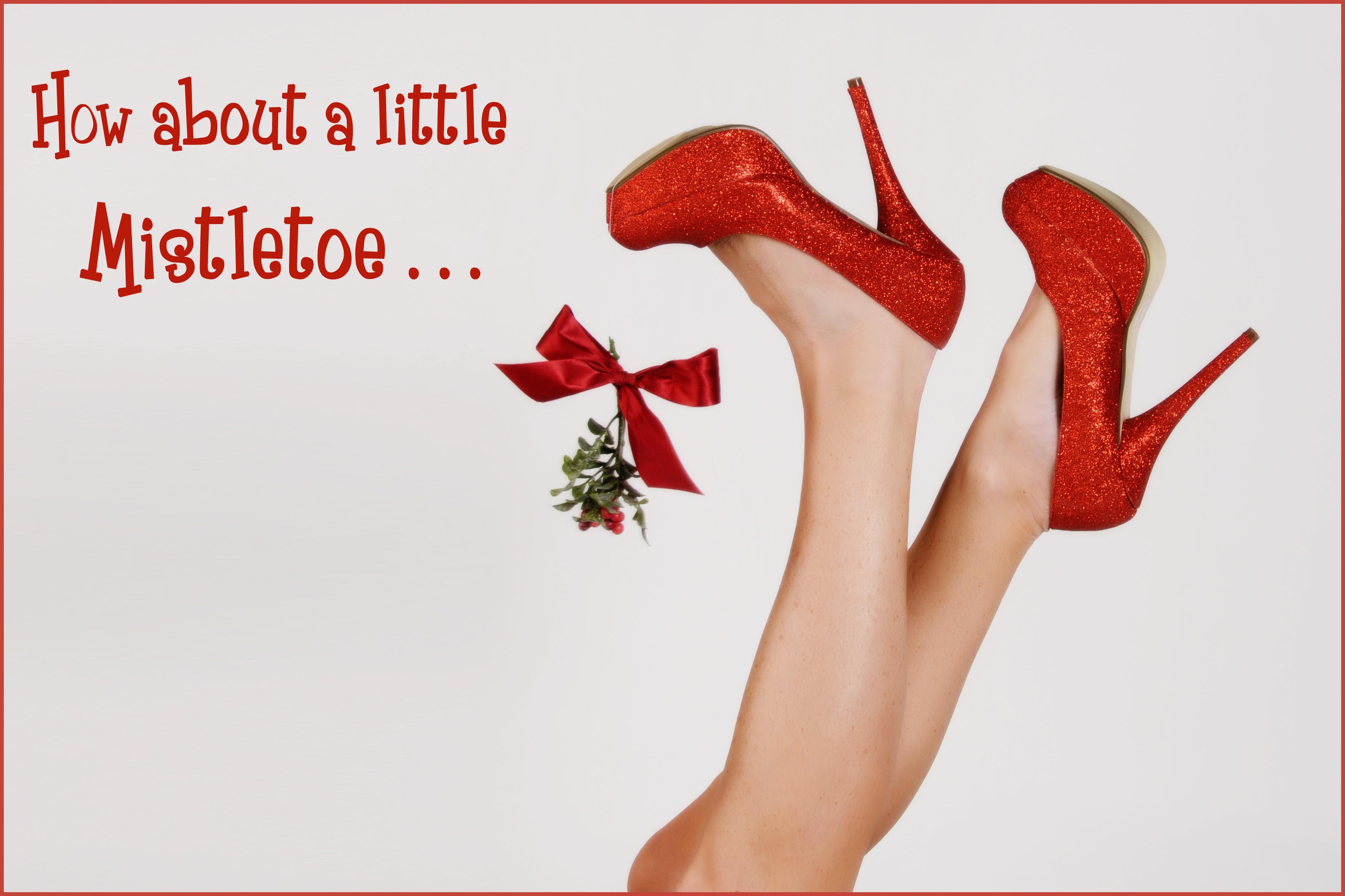 Mistletoe kiss sexy images